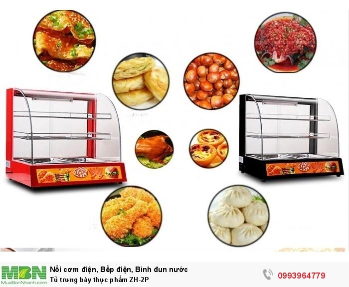 Tủ trưng bày thực phẩm ZH-2P0
