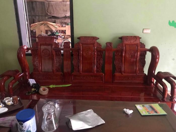 Bộ bàn ghế tần thủy hoàng gỗ xà cừ7