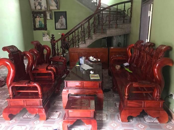 Bộ bàn ghế tần thủy hoàng gỗ xà cừ10