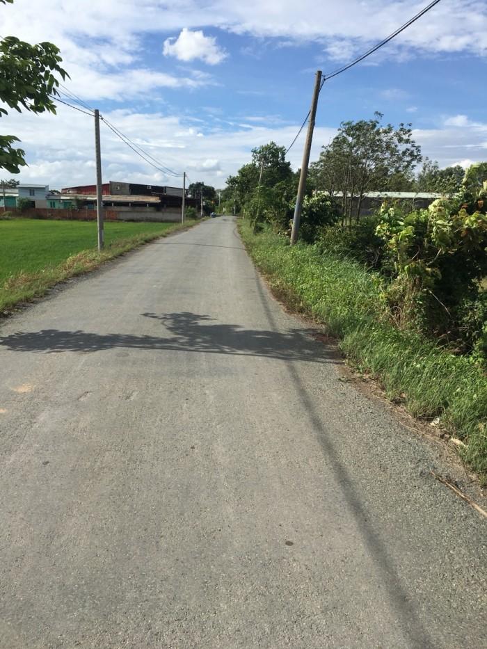 Đất thổ cư mặt tiền đường Bờ Huệ, An Phú Tây, Bình Chánh