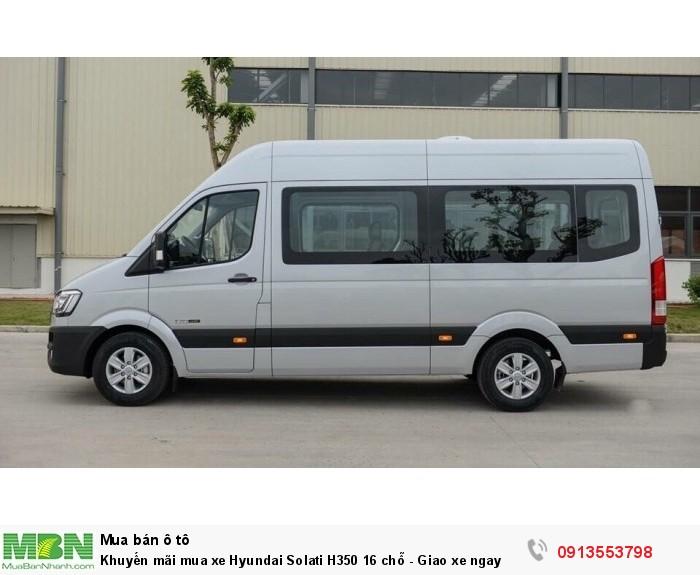 Khuyến mãi mua xe Hyundai Solati H350 16 chỗ - Giao xe ngay