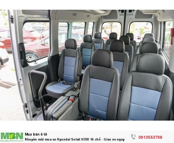 Khuyến mãi mua xe Hyundai Solati H350 16 chỗ - Gọi 0913553798 (24/24)