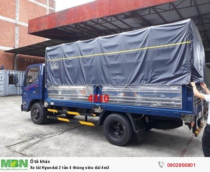 Xe tải Hyundai 2 tấn 4 thùng siêu dài 4m3 2