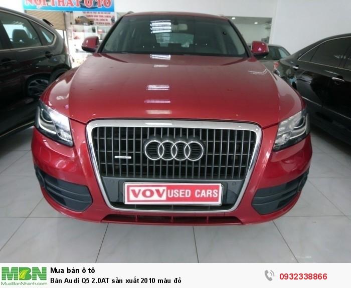 Audi Q5 sản xuất năm 2010 Số tự động Động cơ Xăng