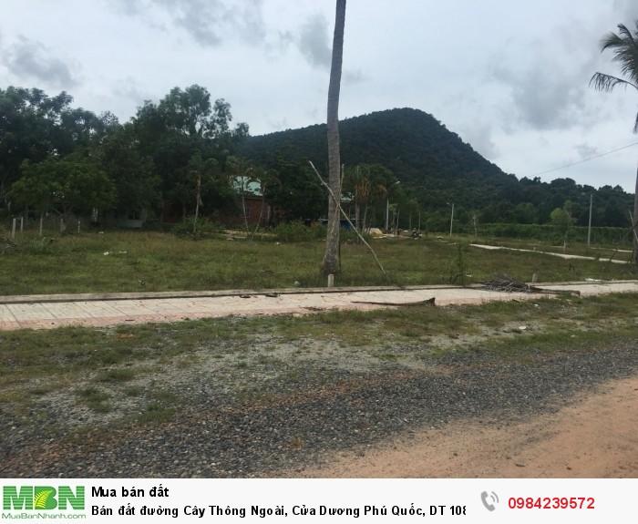 Đất đường Cây Thông Ngoài, Cửa Dương Phú Quốc,  có SHR, DT 100m2 giá 13,5-16 tr/m2,