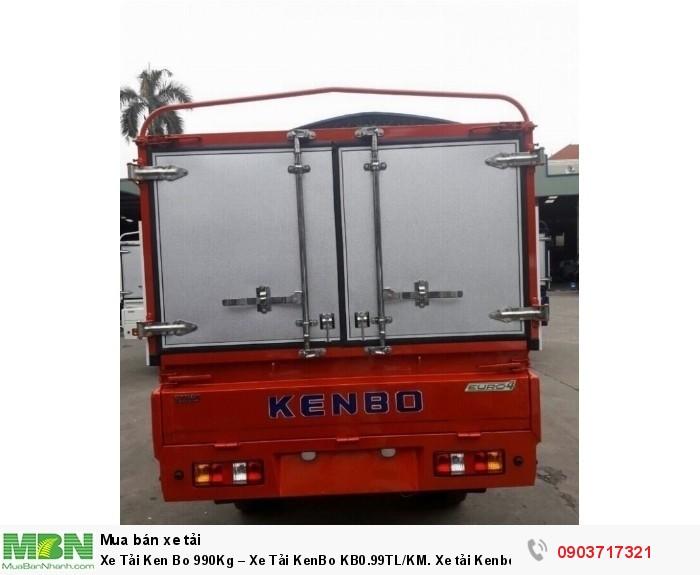 Xe Tải Ken Bo 990Kg