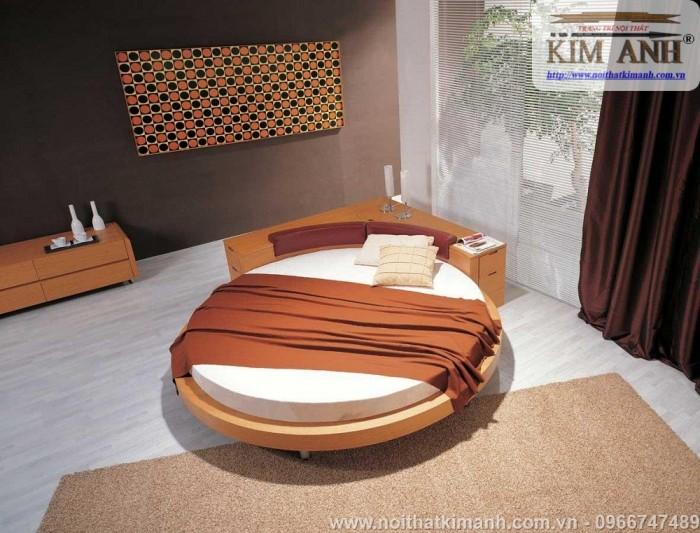 [1] Những mẫu giường tròn đẹp bọc nệm giá rẻ dưới 15 triệu