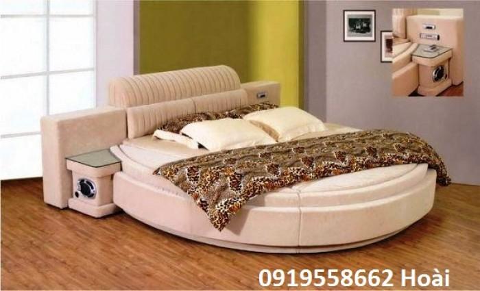 [3] Những mẫu giường tròn đẹp bọc nệm giá rẻ dưới 15 triệu