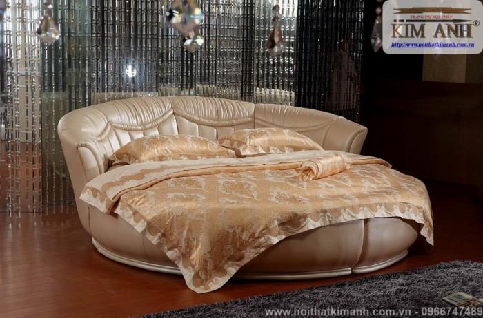 [4] Những mẫu giường tròn đẹp bọc nệm giá rẻ dưới 15 triệu