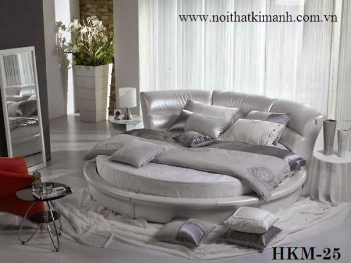 [5] Những mẫu giường tròn đẹp bọc nệm giá rẻ dưới 15 triệu