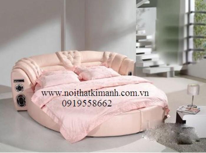 [7] Những mẫu giường tròn đẹp bọc nệm giá rẻ dưới 15 triệu