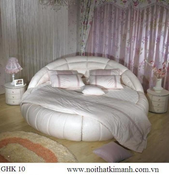 [9] Những mẫu giường tròn đẹp bọc nệm giá rẻ dưới 15 triệu