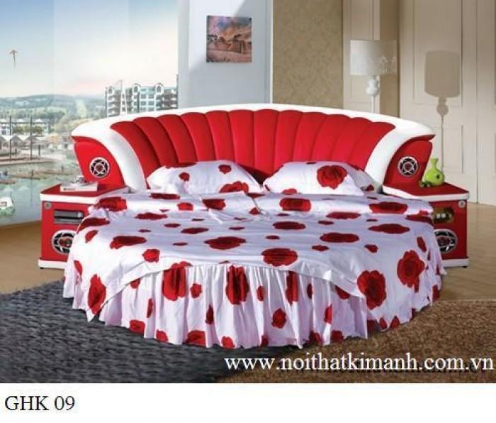 [10] Những mẫu giường tròn đẹp bọc nệm giá rẻ dưới 15 triệu
