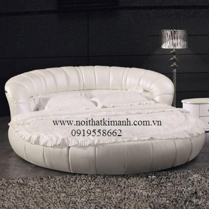 [12] Những mẫu giường tròn đẹp bọc nệm giá rẻ dưới 15 triệu