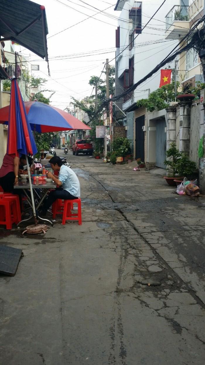 Cho thuê nhà hẻm đường Vườn Lài , P Phú Thọ Hòa Q Tân Phú