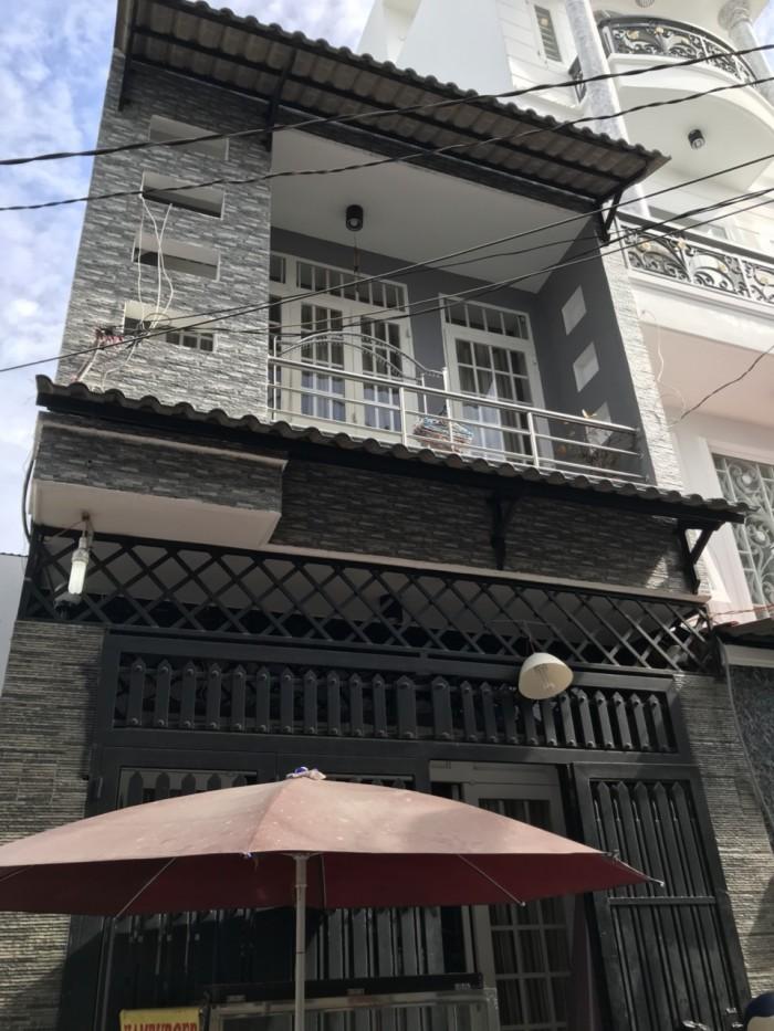 Cần Bán Nhà Hẻm 295 Tân Hòa Đông ( 4x16m ) Q . Bình Tân