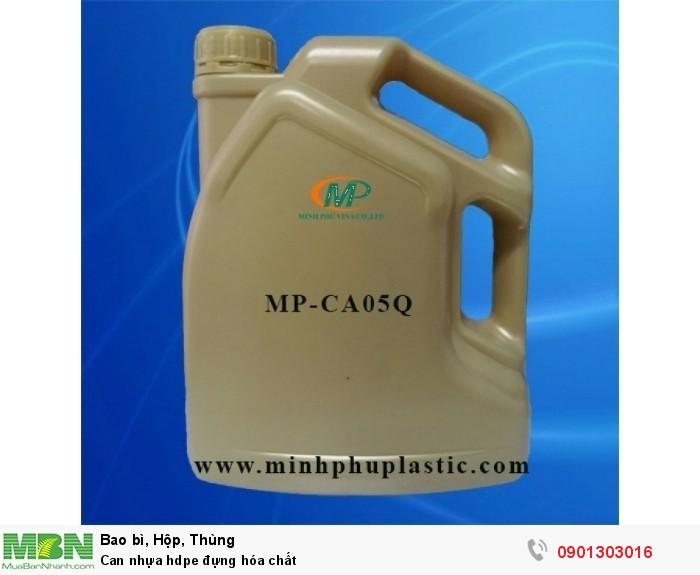 Can nhựa hdpe đựng hóa chất