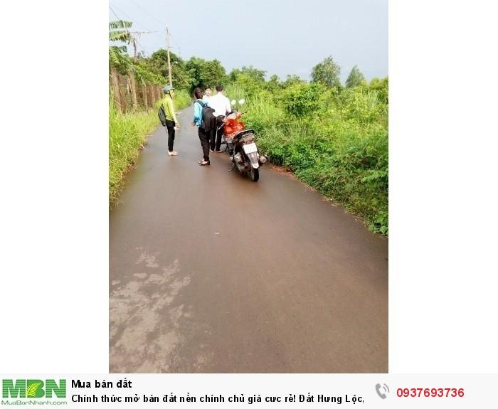 Chính thức mở bán đất nền chính chủ giá cưc rẻ! Đất Hưng Lộc, Huyện Trảng Bom, Đồng Nai.