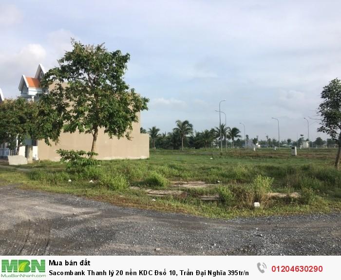 Sacombank Thanh lý 20 nền KDC Đsố 10, Trần Đại Nghĩa 395tr/nền 80m2
