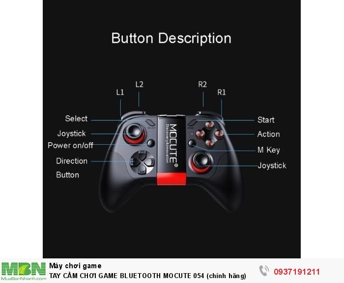 TAY CẦM CHƠI GAME BLUETOOTH MOCUTE 054 (chính hãng)1