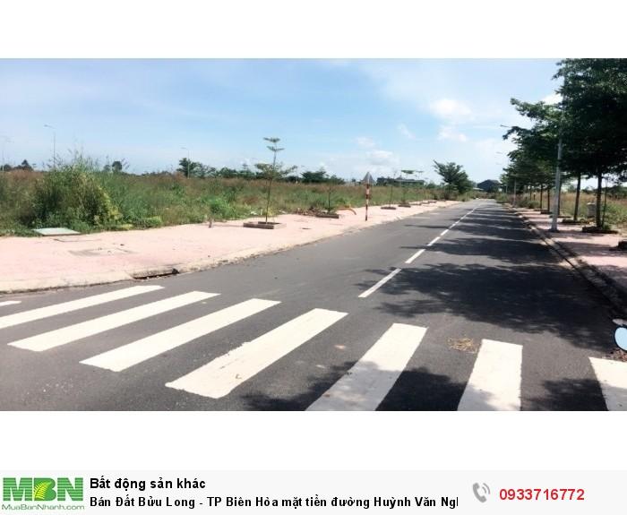 Bán Đất Bửu Long - TP Biên Hòa mặt tiền đường Huỳnh Văn Nghệ thổ cư 100% SHR.