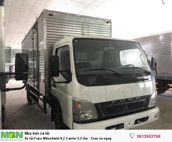 Xe tải Fuso Mitsubishi 8.2 Canter 5.2 tấn - Giao xe ngay - Hotline: 0984810705 (24/24)