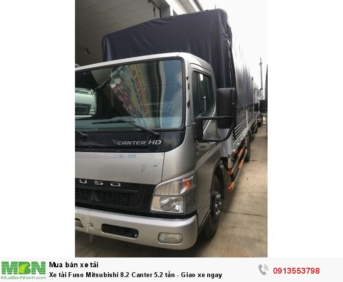Xe tải Fuso Mitsubishi 8.2 Canter 5.2 tấn - Trả trước 150 triệu - Giao xe ngay - Hotline: 0984810705 (24/24)