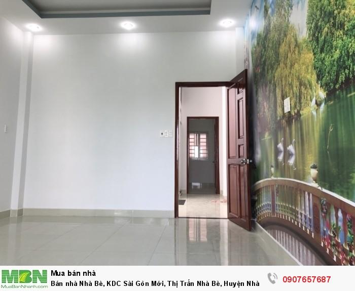 Bán nhà Nhà Bè, KDC Sài Gòn Mới, Thị Trấn Nhà Bè, Huyện Nhà Bè, Tp.HCM