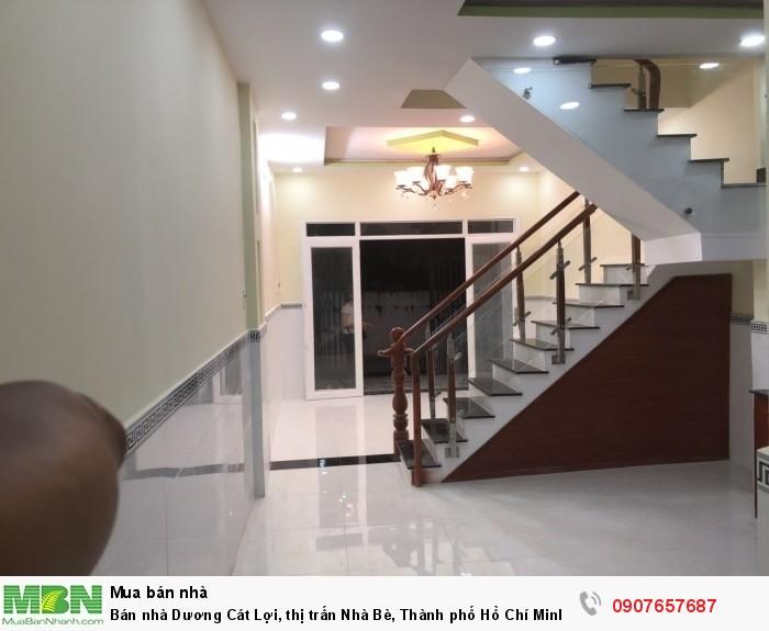 Bán nhà Dương Cát Lợi, thị trấn Nhà Bè, Thành phố Hồ Chí Minh DT 4m x12m
