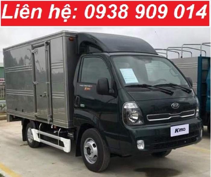 Bán xe tải Thaco Kia K250 động cơ Hyundai 2.5 tấn - Thaco Frontier K250 Euro 4 mới nhất 2018 tại Tiền Giang, Long An, Bến Tre