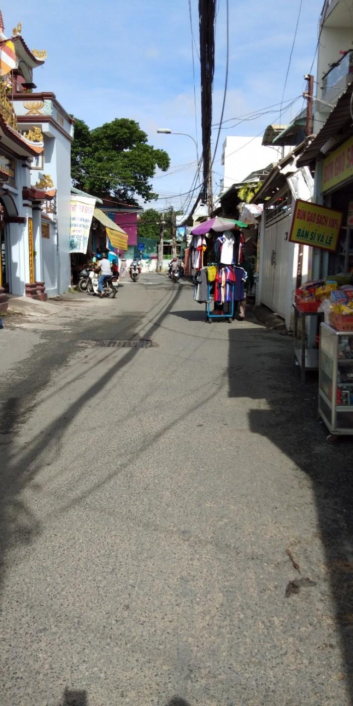 Nhà 1 trệt 2 lầu mặt tiền đường 265 ,sát chợ nhỏ ,Hiệp Phú quận 9 .
