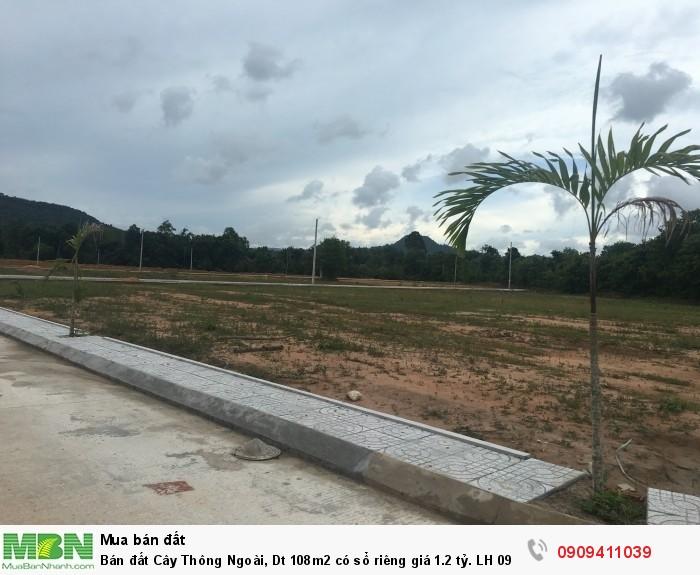 Bán đất Cây Thông Ngoài, Dt 108m2 có sổ riêng