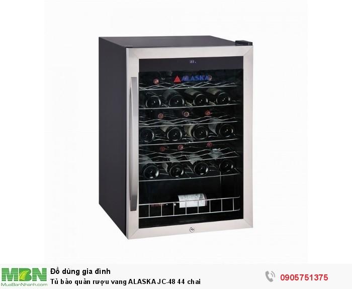 Tủ bảo quản rượu vang ALASKA JC-48 44 chai0