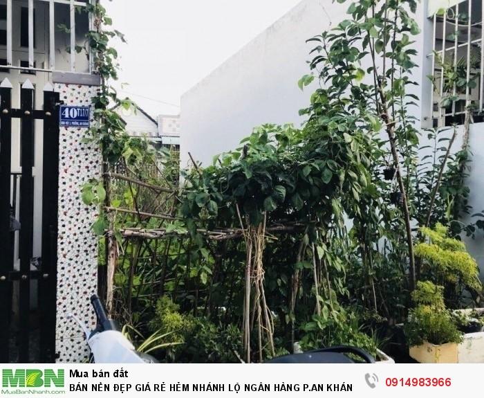 Bán Nền Đẹp Giá Rẻ Hẻm Nhánh Lộ Ngân Hàng P.An Khánh Q.Ninh Kiều Tpct