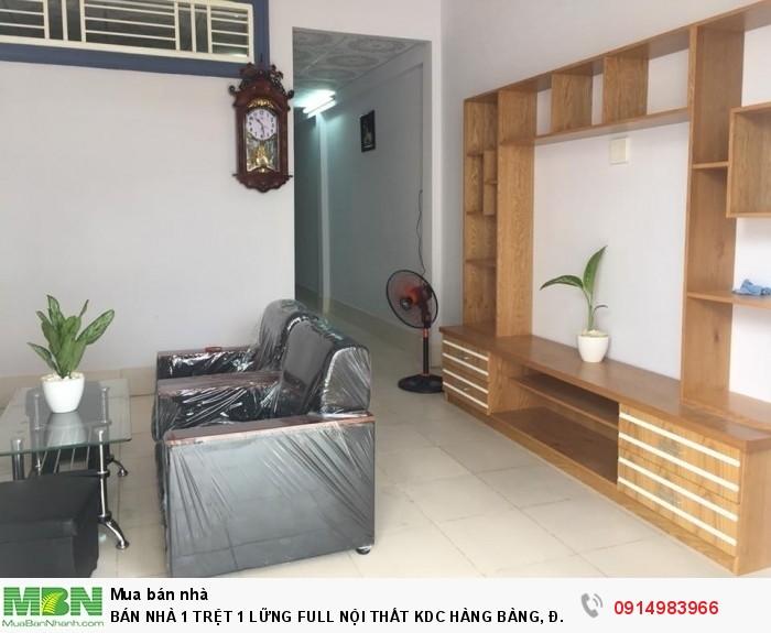 Bán Nhà 1 Trệt 1 Lững Full Nội Thất Kdc Hàng Bàng, Đ.Nguyễn Văn Linh 4x19m