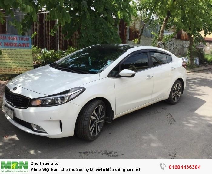 Mioto Việt Nam cho thuê xe tự lái với nhiều dòng xe mới