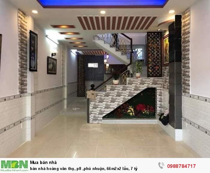 Bán nhà Hoàng Văn Thụ, p8 ,Phú Nhuận, 66m2x2 lầu