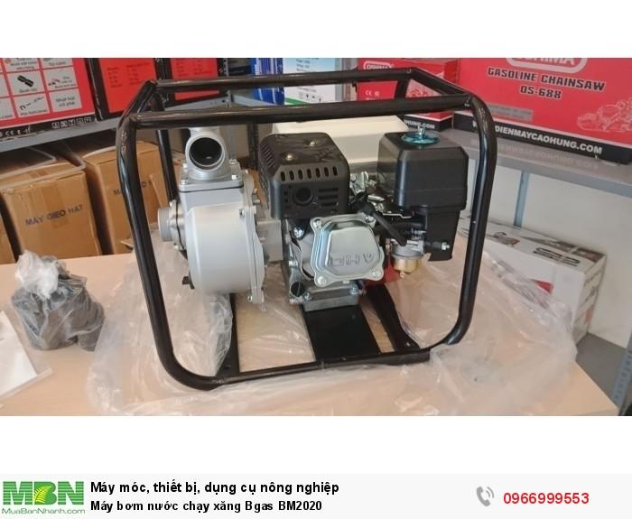Máy bơm nước chạy xăng Bgas BM20200
