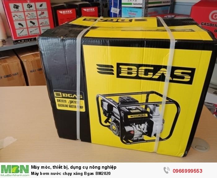 Máy bơm nước chạy xăng Bgas BM20201