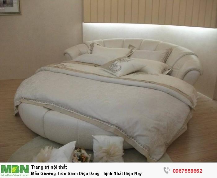 kích thước giường tròn8