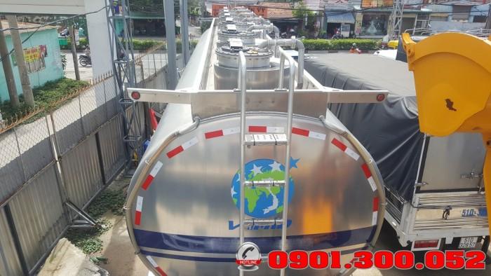 Xitec bồn chở xăng dầu 44 khối hợp kim nhôm - xitec chở mỡ cá 44 m3 1