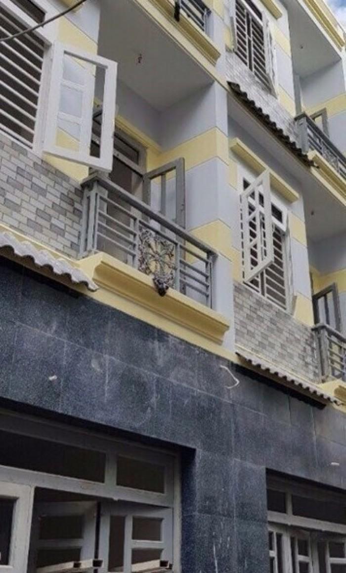 Nhà phố 1 sẹc đường Tỉnh Lộ 10,Bình Tân,3x10m