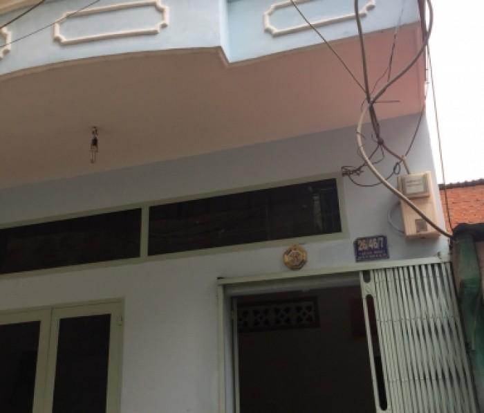 Bán nhà h6m Lê Sát (4mx18m) cấp 4 nất tiện xây dựng . P Tân Quý .Tân Phú.