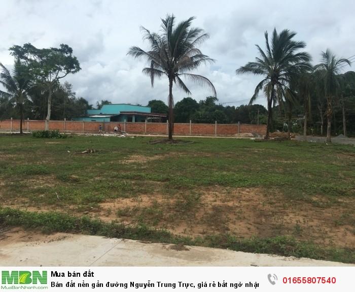Bán đất nền gần đường Nguyễn Trung Trực, giá rẻ bất ngờ nhận ngay chiết khấu khủng