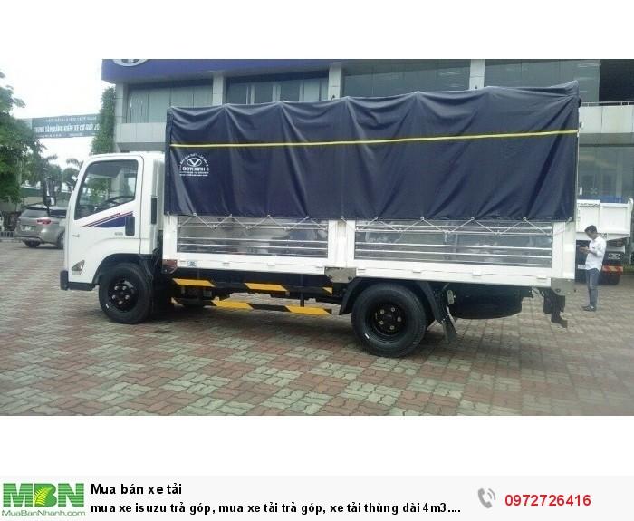 mua xe tải Isuzu trả góp, mua xe tải trả góp, xe tải thùng dài 4m3