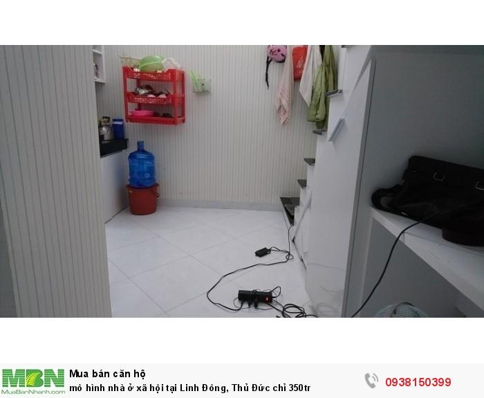 Mô hình nhà ở xã hội tại Linh Đông, Thủ Đức chỉ 350tr