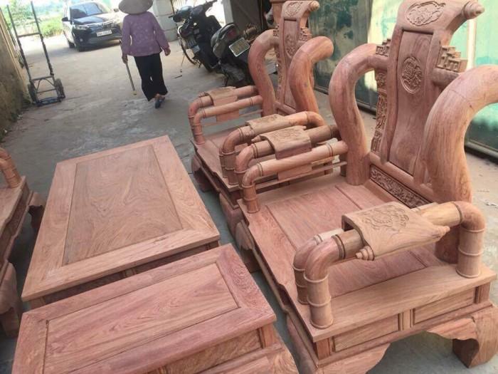 Bộ bàn ghế tần thủy hoàng gỗ hương đá4