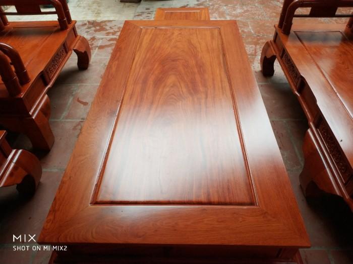 Bộ bàn ghế tần thủy hoàng gỗ hương đá3
