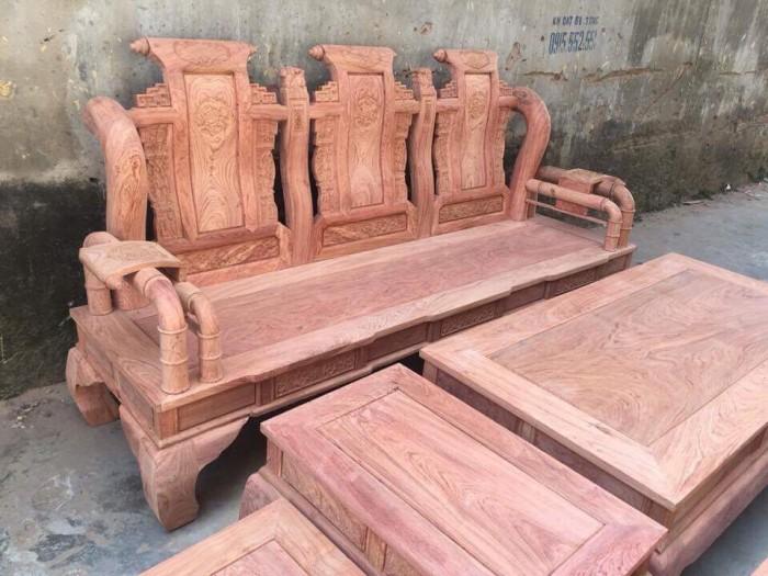 Bộ bàn ghế tần thủy hoàng gỗ hương đá5