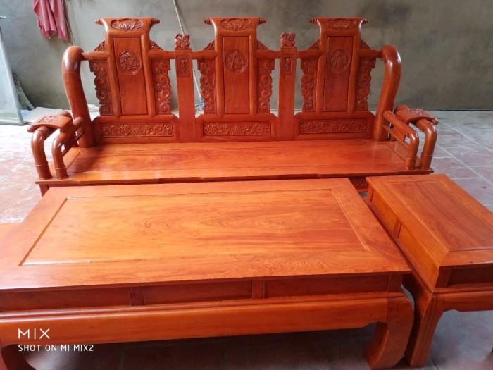 Bộ bàn ghế tần thủy hoàng gỗ hương đá8